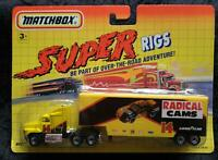 MATCHBOX SUPER RIGS #14 RADICAL CAMS GOODYEAR PETERBILT - NEW - UNOPENED BLISTER