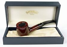 SAVINELLI PUNTO ORO 121 HALFBENT POT PIPE * NEW in BOX * MIN. 3 YEARS DRYING