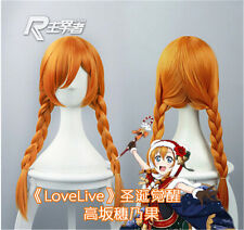 Anime Cosplay Wig Love Live! Kousaka Honoka Christmas awakening Wig + Wig Cap