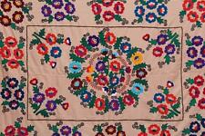 UZBEK AMAZING VERY BEAUTIFUL COLOURFUL HANDMADE EMBROIDERY – SUZANI
