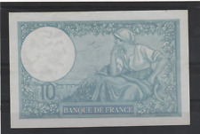 BILLET France 10 francs Minerve 16/1/1941 Série F.83766 fayette 7/28 (jn60)