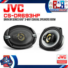 "JVC CS-DR693HP DRVN DR Series 6x9"" 600W 3-Way Coaxial Car Speakers"