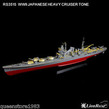 LionRoar Photo-etched details 1/350 WWII JAPANESE HEAVY CRUISER TONE
