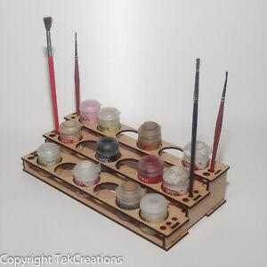 18 Paint Rack Holder for Citadel Warhammer Paints