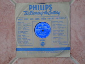 HEY THERE - IT JUST HAPPENED - ROSEMARY CLOONEY - PHILIPS 78rpm 1950's VINTAGE