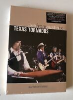 DVD SIGILLATO / SEALED TEXAS TORNADOS LIVE FROM AUSTIN TX DOUG SAHM AUGIE MYERS