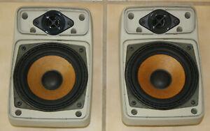 BMW E23 E30 E28 Pearl Beige Premium Sound Speaker Set 318 325 M3 528 535 M5 735