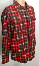Tommy Hilfiger L Shirt Jacket Flannel Check Plaid Thermal...