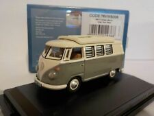 Oxford Diecast Ltd 76VWS006 VW T1 Camper Mouse Grey// Pearl White