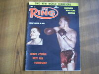 THE RING - BOXING MAGAZINE - JUNE 1961 - HENRY COOPER, DAVEY MOORE