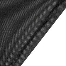 "Black Interfacing Polypropylene Mesh Non Woven 36"" Wide Upholstery Fabric~Bty"