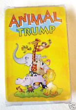 ANIMAL TRUMP Deck of Educational Cards Facts On 32 African Animals Pawprint Game