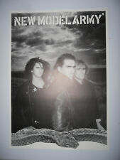 NEW MODEL ARMY poster dimension environ 61 x 86 cm