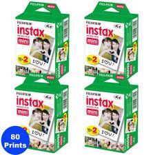 80 Prints Fujifilm Instax Mini Instant Film for Fuji 9-8 and all Mini Cameras