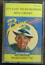 BING CROSBY IT'S EASY TO REMEMBER    CASSETTE TAPE    (RETRO)  CTVS 1005    (54)