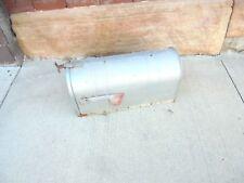 large metal mailbox with flag fulton garden yard wedding decor #2