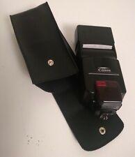 Canon Speedlight 550EX Flash unit with Case