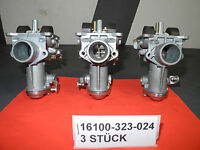 3x Vergaser 3x carburettors Honda CB500F New Parts Neuteile