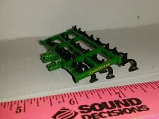 1/64 ertl custom John deere 3pt 12' field cultivator farm toy tillage tool