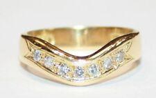 Anelli con diamanti in oro giallo