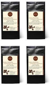 GP: 43,00 €/kg - Kaffee Probierset - Haselnuss Mandel-Zimt Sahne Macadamia 300 g