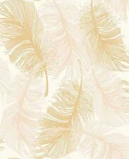 New Coloroll Feather Gold Glitter Wallpaper by Coloroll Gold Effect - M0926