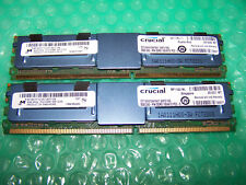 16GB Crucial PC2-5300F DDR2  667MHz Fully Buffered Server FBDIMM (2x 8GB)