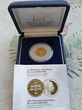 Goldmünze 5 € Luxemburg PP 1/5 oz 2003
