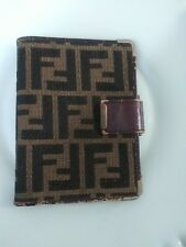 """Fendi Vintage Address Book (5.5"""" x 4"""" across"""