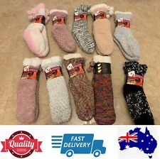 3 Pairs Warm Fluffy Women's Home Socks Thermal Socks Bundle Special, AU Stock
