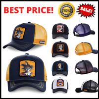 NEW Men Women Goku Seiya Snapback Adjustable Baseball Cap Hip-Hop Trucker Hat