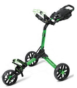 Bag Boy Nitron Push Cart - LIME  - Limited Edition!