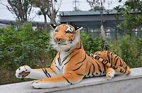 Giant Huge big Tiger Emulational Life Size Plush Stuffed Toys Animal dolls gifts