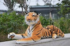 67'' Life Size Huge Giant Plush Stuffed Tiger Emulational Toy Animal toys doll