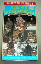 hunting VHS tape Whitetail Extreme- The Quest Of The Grand Slam Of Big Game