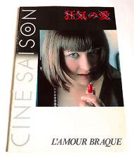 SOPHIE MARCEAU L'Amour Braque JAPAN MOVIE PROGRAM BOOK 1987 Andrzej Zulawski