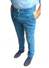 MARINELLA Pantalone azzurro galles MOD.Lugano cotone Sconto 60% ULTIMA TG.38