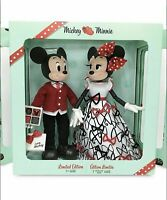 Mickey and Minnie Mouse Limited Edition Valentine's Day Doll Set 2021 CONFIRMED