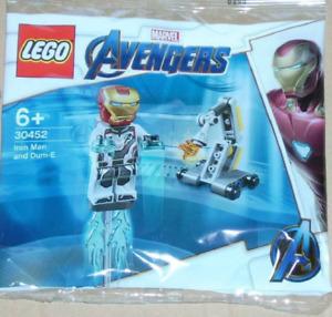 NEW - LEGO Polybag 30452 - Iron Man & Dum-E - Marvel Avengers Endgame