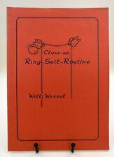 Close-up Ring-Seil-Routine, Willi Wessel,  deutschsprachiges Skript