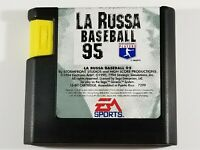 ¤ La Russa Baseball 95 ¤ (Game Cart) Good! Sega Genesis Authentic