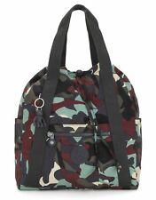 kipling Basic Art Backpack S Rucksack Tasche Camo Large Light Grün