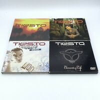 Tiesto CD & DVD Lot: In Search of Sunrise LA Asia Elements Of Life World Tour