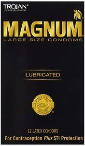Trojan Magnum Large 12 Pack Condoms