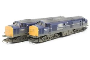 Hornby R2412 Mainline Co-Co Diesel Electric Class 37 Locomotive - Weathered