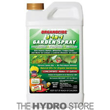Organocide 3 In 1 Concentrated Garden Spray Insecticide Fungicide Miticide 32 Oz