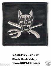 CALL OF DUTY GHOST RILEY DOG PATCH - GAME113V