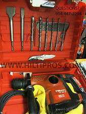 HILTI TE 30-C AVR CORDED HAMMER DRILL, GREAT CONDITION, FREE EXTRAS, FAST SHIP