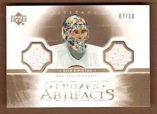 Rick DiPietro New York Islanders Piece of Authentic Hockey Trading ... 6f82786f9