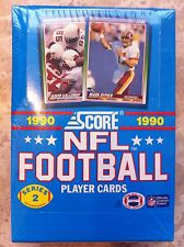 1990 Score NFL Football Cards Wax Box - Series 2 FACTORY SEALED